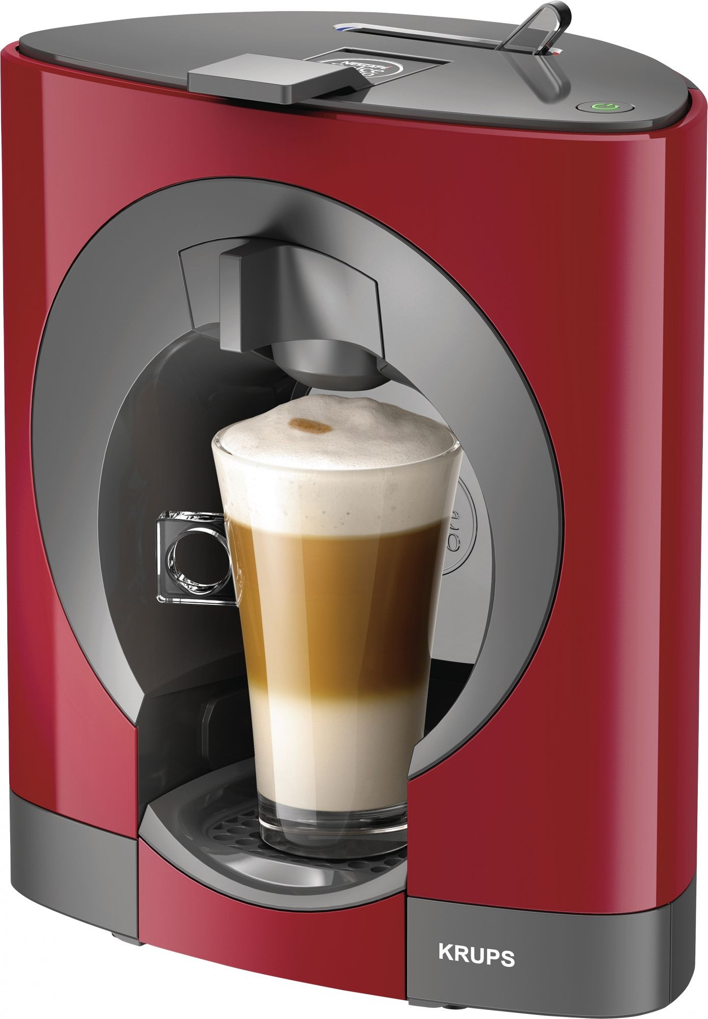 teamsix kp1105 dolce gusto oblo rot krups kaffee kapselautomaten. Black Bedroom Furniture Sets. Home Design Ideas