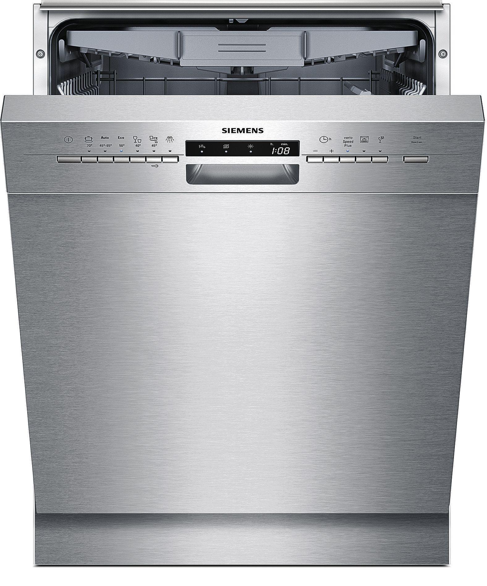 teamsix sn46p582eu edelstahl siemens elektro gro lavastoviglie sottopensile. Black Bedroom Furniture Sets. Home Design Ideas