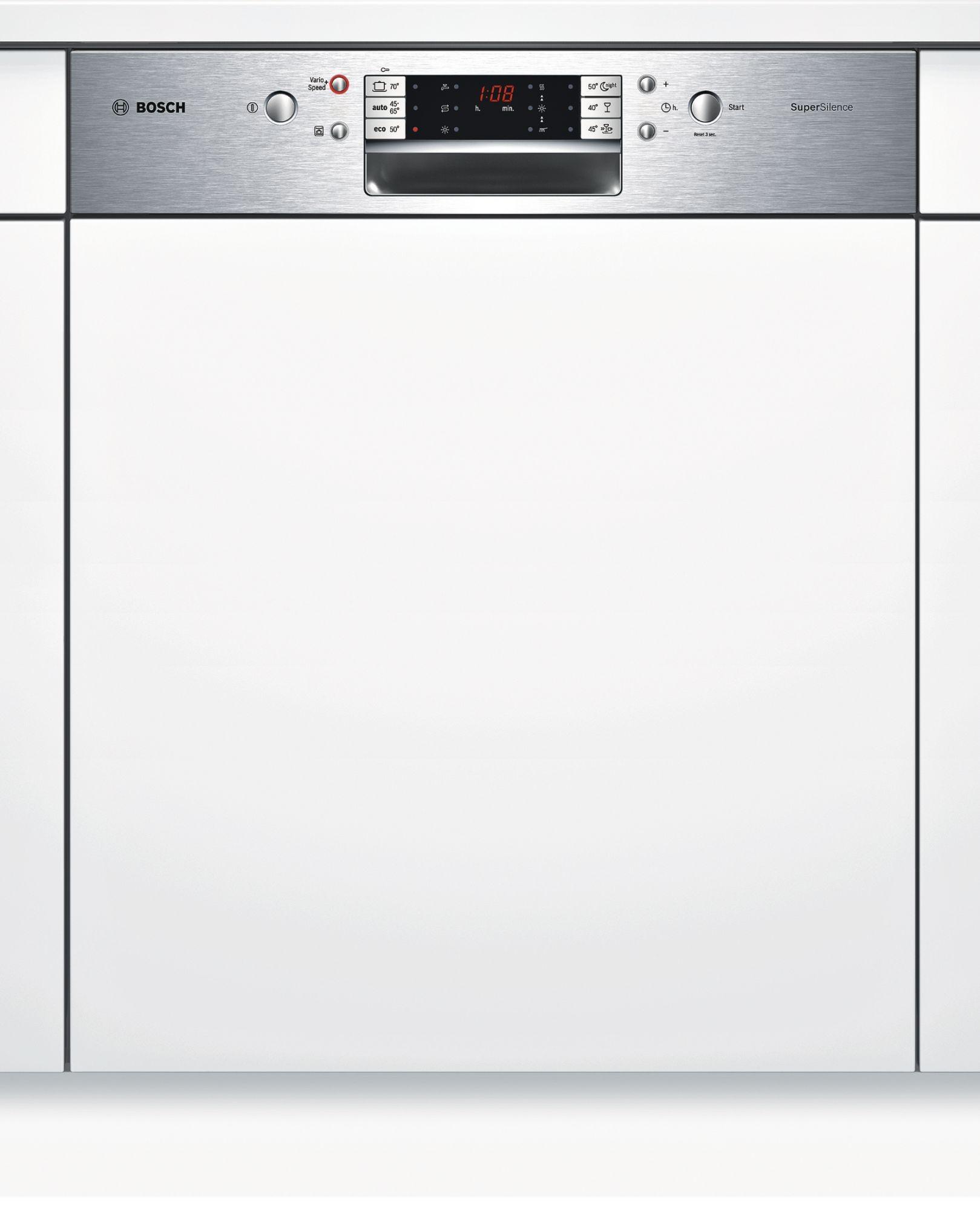 teamsix smi68m85eu edelstahl bosch elektro gro einbau geschirrsp ler integrierbar. Black Bedroom Furniture Sets. Home Design Ideas