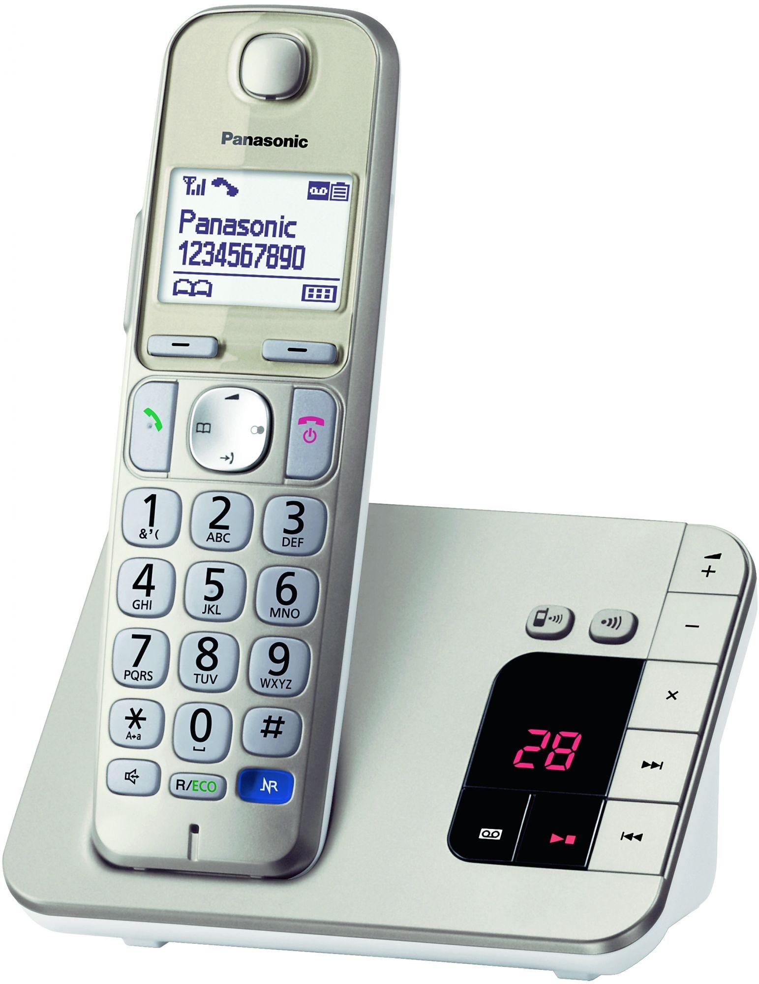 teamsix kx tge220gn champagner panasonic telekom. Black Bedroom Furniture Sets. Home Design Ideas