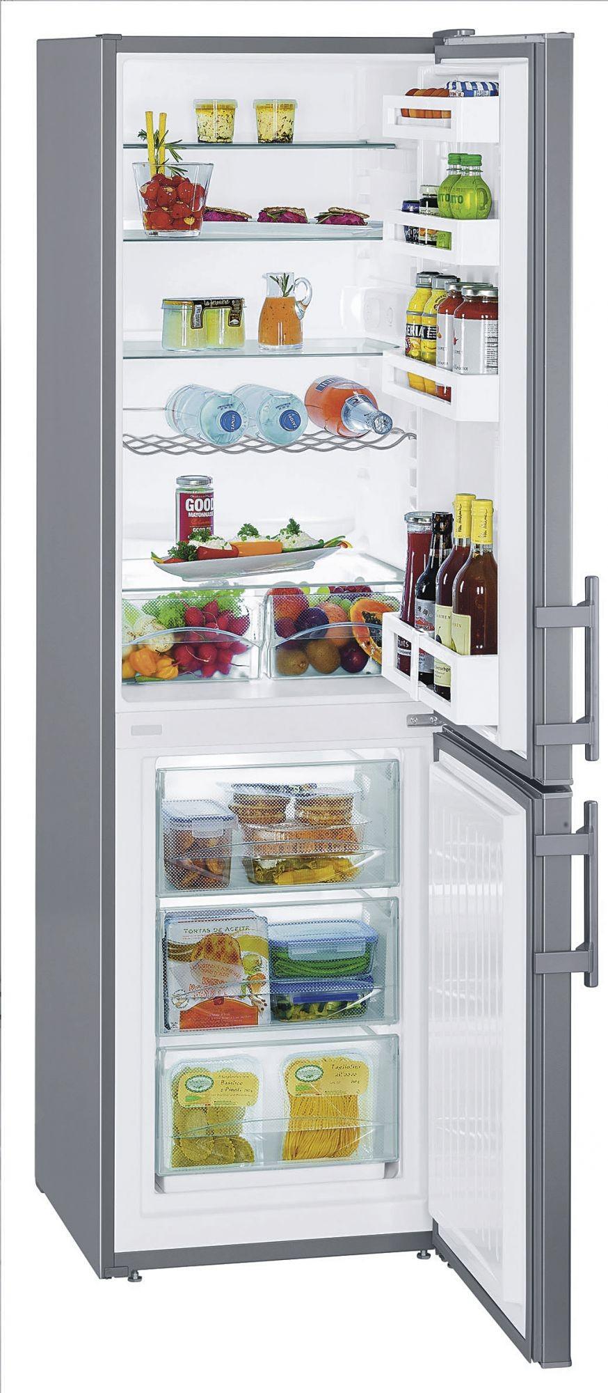 teamsix cuef 3311 20 edelstahl liebherr fachhandel combinati frigo congelatore. Black Bedroom Furniture Sets. Home Design Ideas