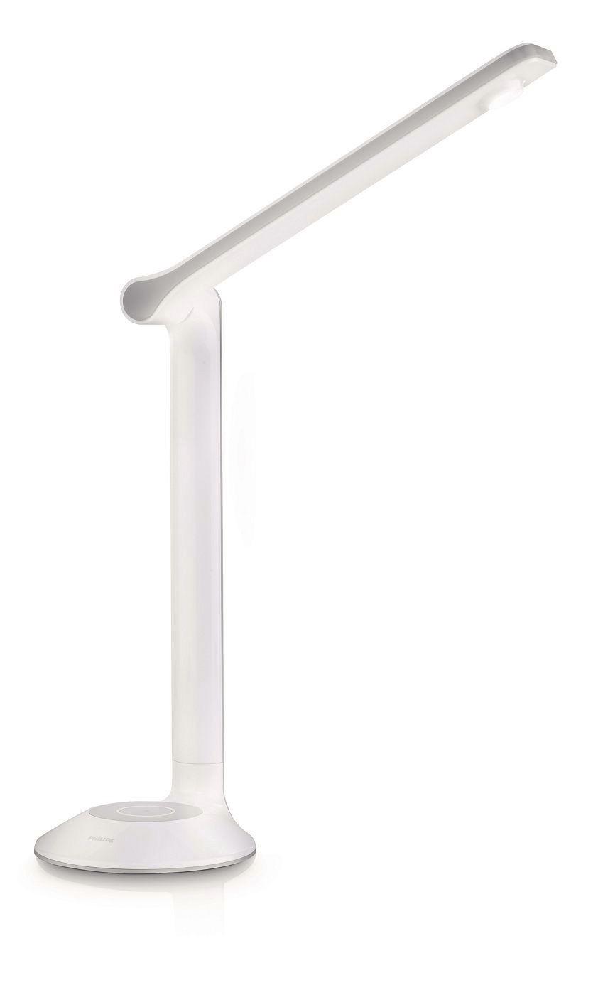 teamsix eye lamina led tischleuchte 1x3w weiss philips licht leuchten. Black Bedroom Furniture Sets. Home Design Ideas